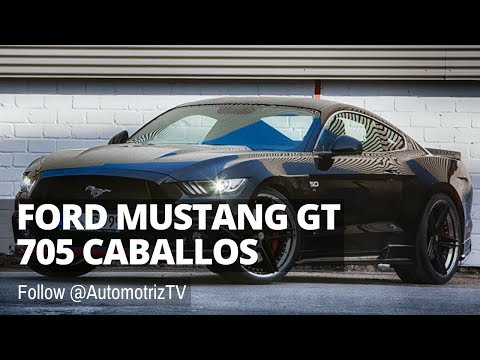 💥 Ford Mustang GT 2017 con 705 Caballos