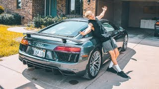 I GOT MY DREAM CAR BACK! (AUDI R8)