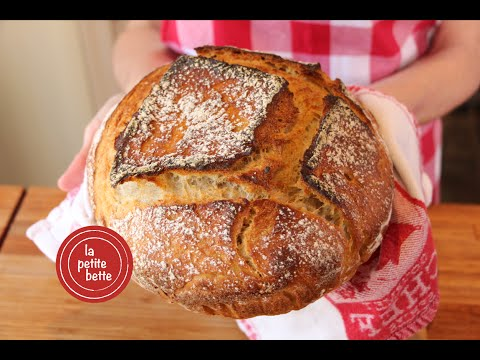pain-maison-comme-À-la-boulangerie-(sans-pétrissage)-🍞🥖tuto-la-petite-bette