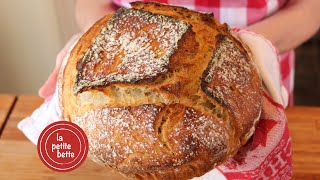 Perfect bakery style homemade bread (no knead)