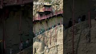1,500-year-old hanging temple