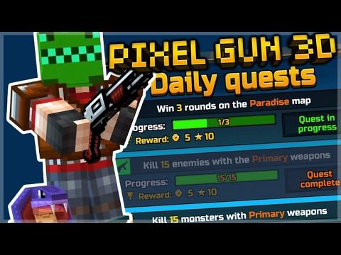 Pixel Gun 3D - EPIC KILLSTREAK & QUEST HUNTING! (Pixel Gun 3D)