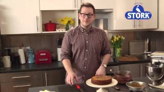 Edd Kimber's Chocolate Salted Caramel Marble Cake | Stork Recipes