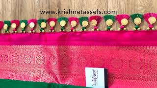 Traditional Baby Kuchu Designs from Krishne Saree Tassels
