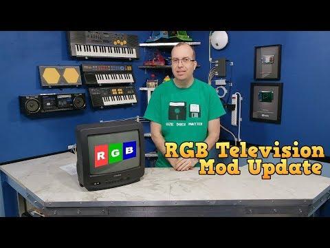 Modding a TV for RGB - Part 2
