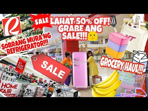 huge-sale!-50%-off-lahat-ang-kitchenware-at-gamit-pambahay,-appliances-on-sale-din!-+-grocery-haul!