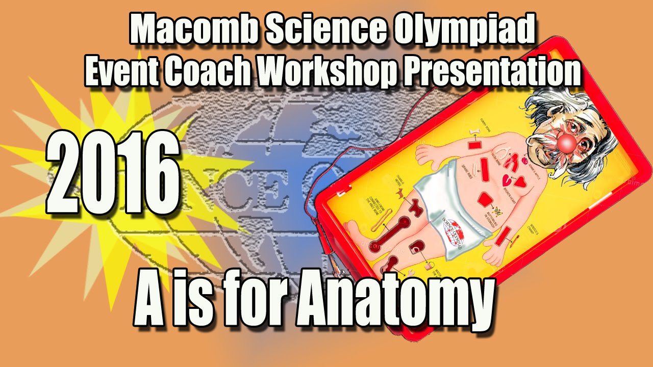 Event Coach Workshop for A is for Anatomy - YouTube