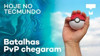 """Batalhas PvP em Pokémon Go, """"replay"""" na Netflix, senhas populares e mais - Hoje no TecMundo"""