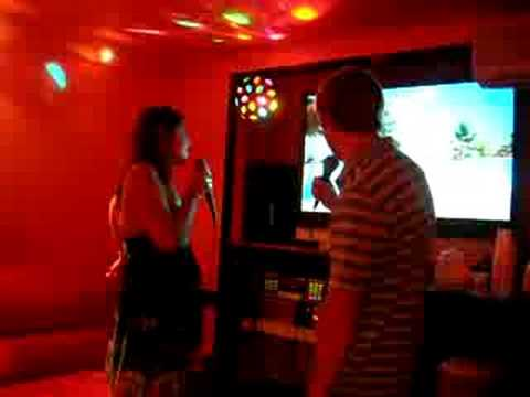 Dan and Colleen Karaoke part 2