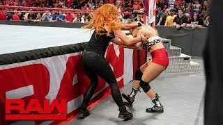 Becky Lynch gets her hands on Lacey Evans: Raw, May 6, 2019