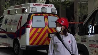 Mexico City Earthquake Roma Neighborhood