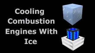 Cooling Combustion Engines With Ice (Tekkit/Feed The Beast) - Minecraft In Minutes
