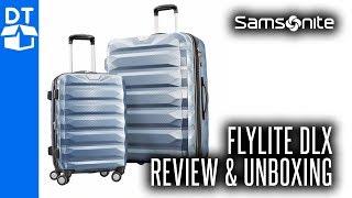 Samsonite Flylite DLX 2 Pc Set Costco Review & How To Unlock