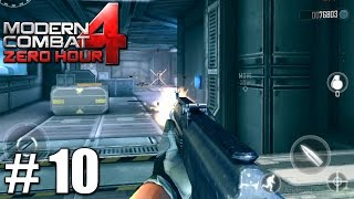 Modern Combat 4: Zero Hour - Gameplay Nvidia Shield Tablet Android HD Mission 10