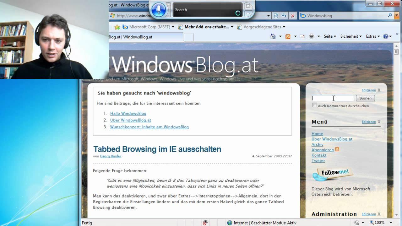 spracherkennung windows 7