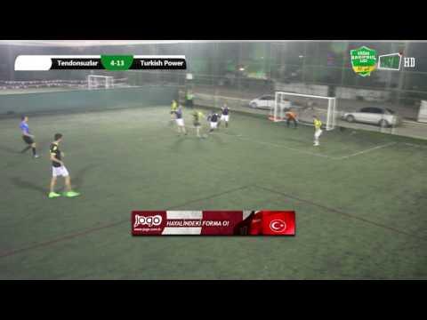Tendonsuzlar FC  4:13  Turkish Power /MAÇ ÖZETİ/ ANKARA / iddaa Rakipbul Ligi 2017