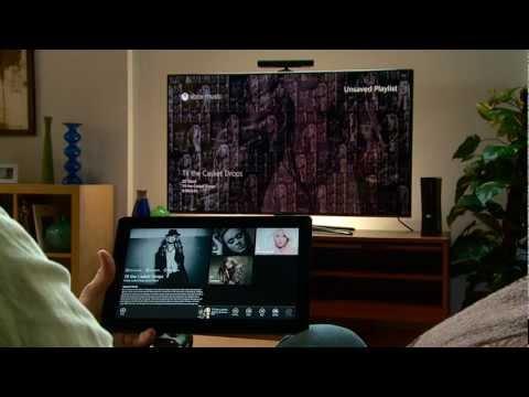 SmartGlass Tutorials: Xbox Music