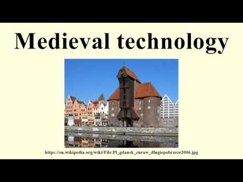 Medieval technology