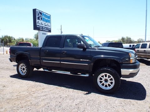 2004 chevrolet silverado 2500hd lt crew cab lifted 4x4 9280 youtube. Black Bedroom Furniture Sets. Home Design Ideas