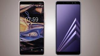 Nokia 7 Plus vs Samsung Galaxy A8 2018 Comparison