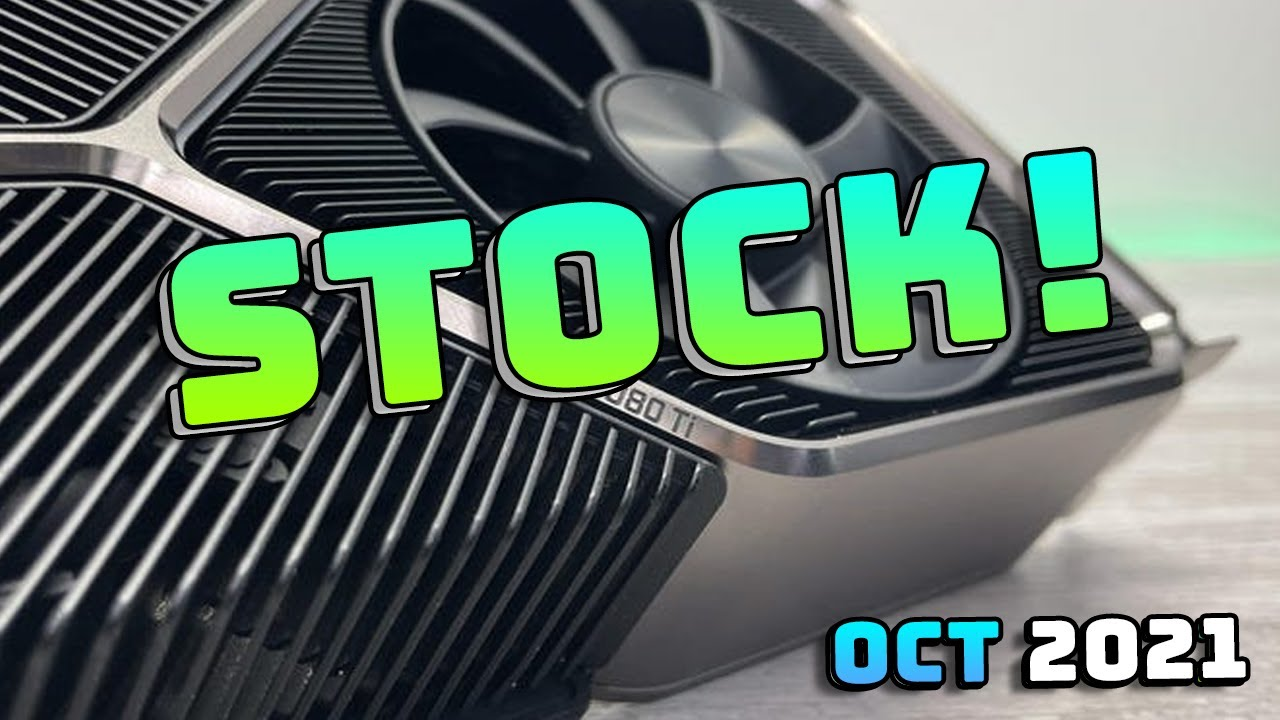 Download Is GPU Stock Going To GET BETTER Soon?... A GPU Crisis Update (October 2021)