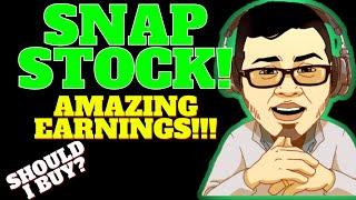 Snap stock analysis ...