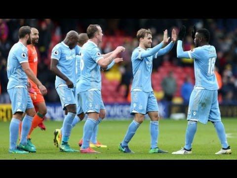 Single Goal Of Heurelho Gomes Into His Own Goal To Win Stoke City 1 vs 0 Watford