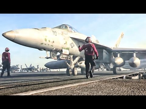 Aircraft Carrier Flight OPS • USS George H.W. Bush (CVN-77)