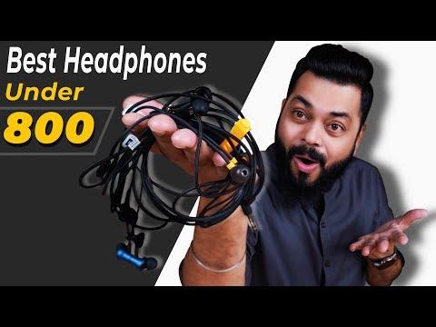 Top 5 Best Earphones Under ₹800 ⚡ ⚡ ⚡ सबसे बढ़िया Wired Earphones सिर्फ ₹800 में (March 2020)