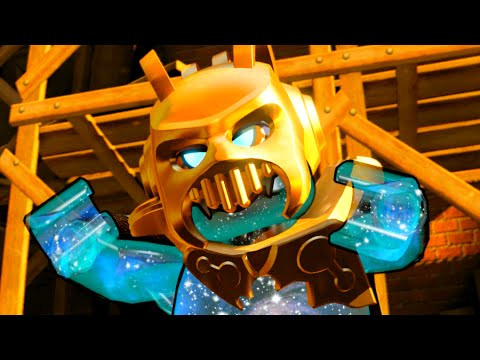 LEGO Dimensions Lord Vortech Wild West Boss Fight