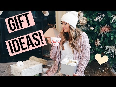 CUTE GIFT IDEAS! WHAT I BOUGHT MY FRIENDS AND FAMILY! ALEXANDREA GARZA