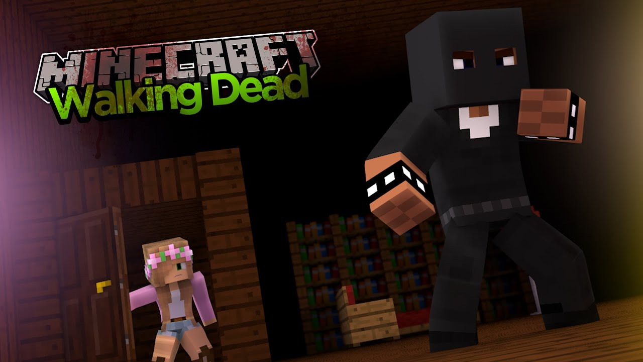 Minecraft - The Walking Dead : FINDING SHARKY! - YouTube