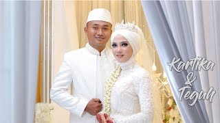 MUSLIM WEDDING ( Akad nikah & Temu Manten ) : Kartika + Teguh by HAFA PRODUCTION