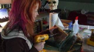 How To Make A Skull Paper Towel Holder