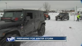 Jeep Wrangler Club of WNY set to help people stranded in snow storm
