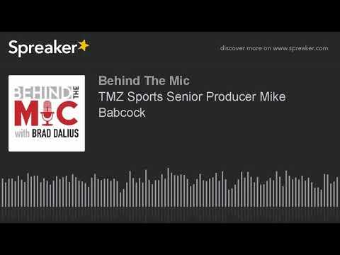 TMZ Sports Senior Producer Mike Babcock