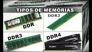 Dicas Para PC – Veja as Diferenças e Características das Memórias RAM DDR, DDR2, DDR3 e DDR4