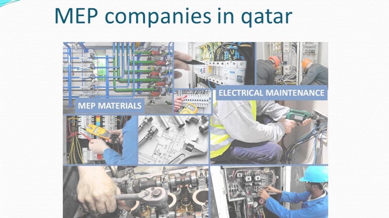 MEP contractors in qatar mp4