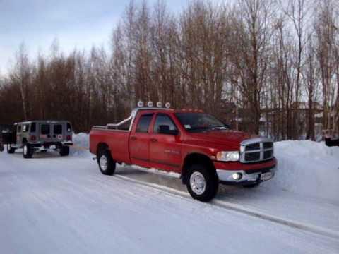 Hummer H1 VS Dodge Ram - YouTube