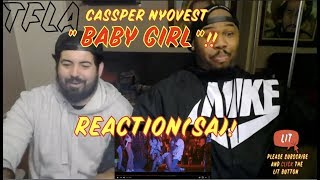 Cassper nyovest - baby girl (official music video) | (thatfire la) reaction