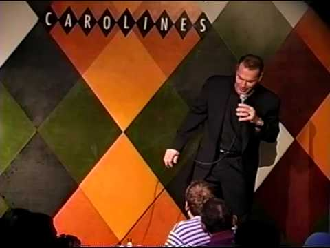 Al Sapienza doing Stand Up comedy