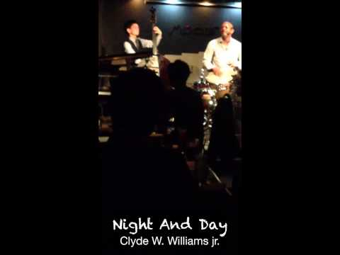 Clyde Williams sings night and day