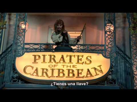 Piratas Del Caribe - Johnny Depp En Disneyland