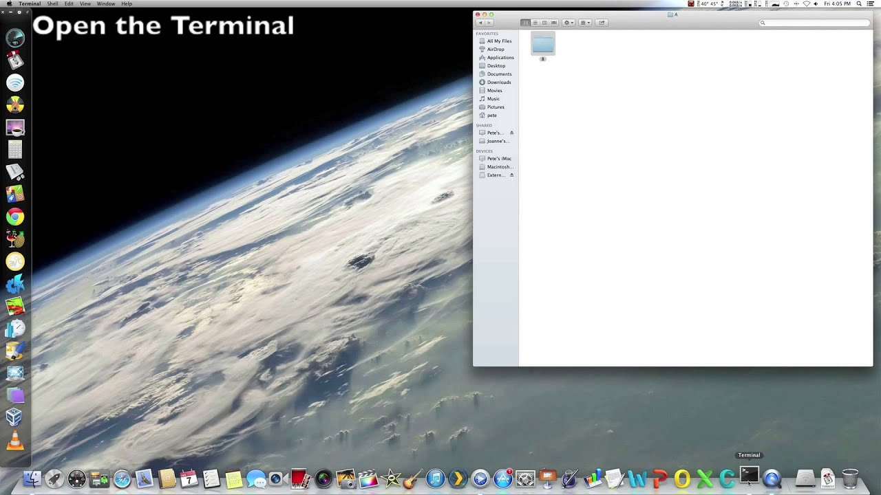 how to unlock a locked file mac os x
