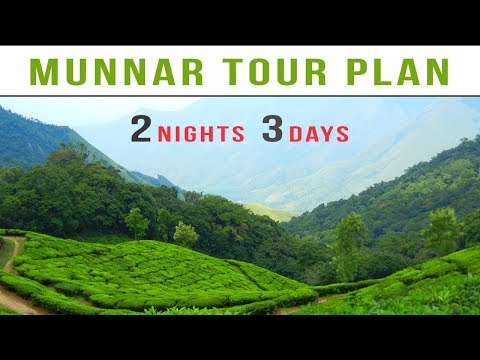 Munnar Tour Plan | 2 Nights And 3 Days Munnar Tour Package