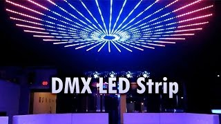 DMX LED Strip by SIRS-E® Installed at Shine Club McAllen TX