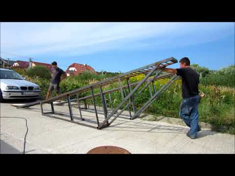 Car ramps - how to make it - DIY