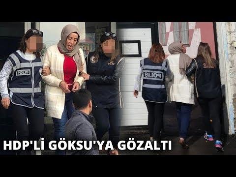 Karayazı Belediye Başkanı HDP'li Melike Göksu'ya gözaltı