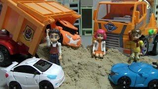 또봇 모래놀이 장난감 Tobot Sand Play Toys