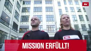 Sven Fliege als Superhero in Berlin - Dice machts möglich